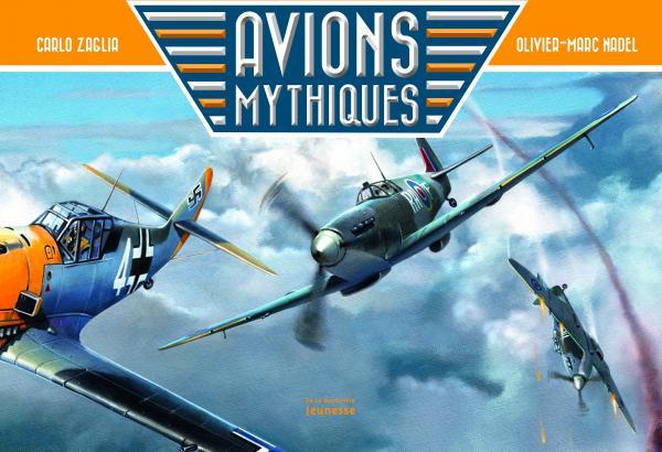 Couverture de l'ouvrage Avions mythiques