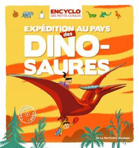 Couverture de l'ouvrage Expédition au pays des dinosaures !
