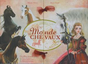 Couverture de l'ouvrage Un monde de chevaux