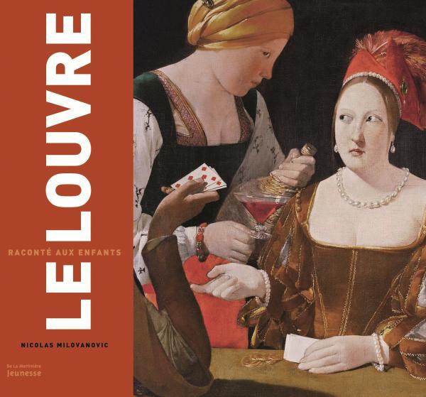 Couverture de l'ouvrage Le Louvre raconté aux enfants