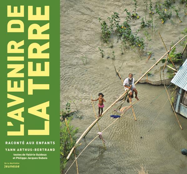 Couverture de l'ouvrage L'Avenir de la Terre raconté aux enfants