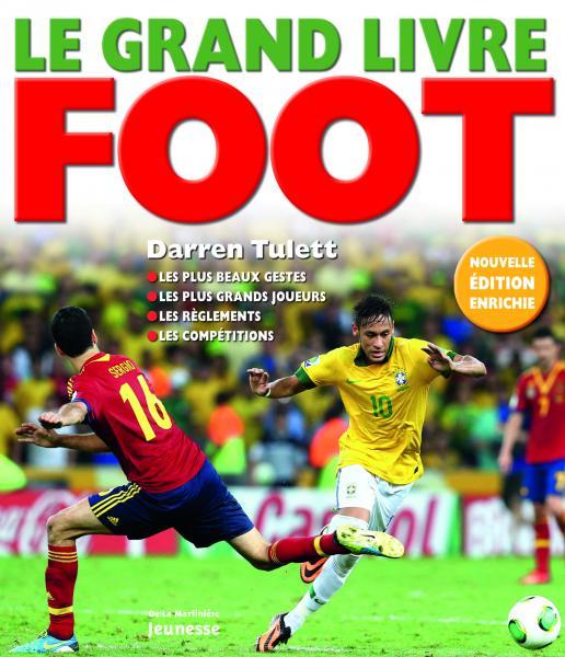 Couverture de l'ouvrage Grand livre foot