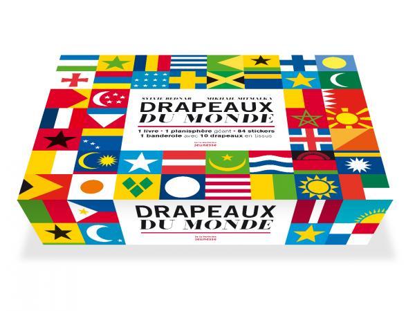 Couverture de l'ouvrage Drapeaux du monde, coffret