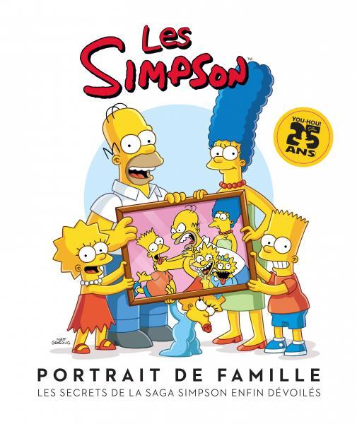 Couverture de l'ouvrage Les Simpson : Portrait de famille