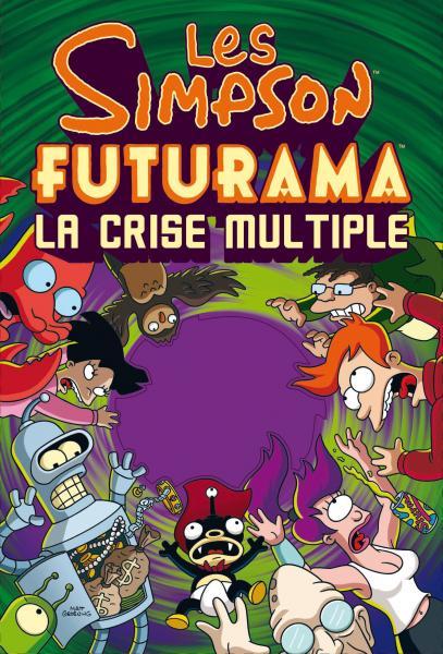 Couverture de l'ouvrage Simpson futurama