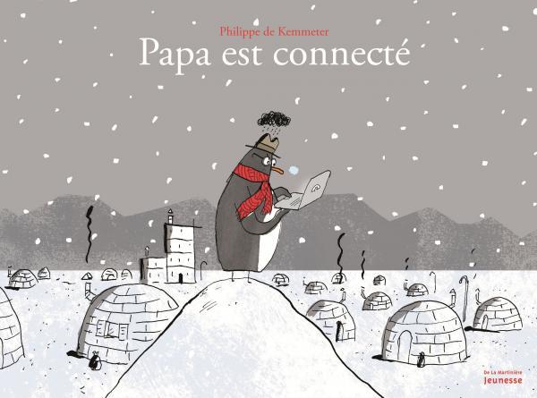 Couverture de l'ouvrage Papa est connecté