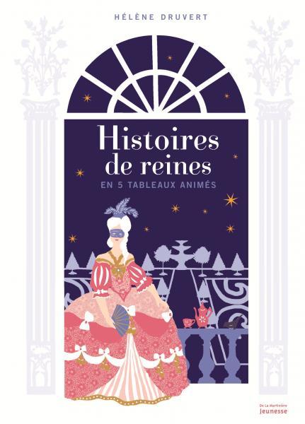 Couverture de l'ouvrage Histoires de reines