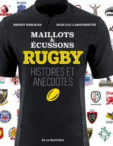 Couverture de l'ouvrage Rugby, maillots et écussons