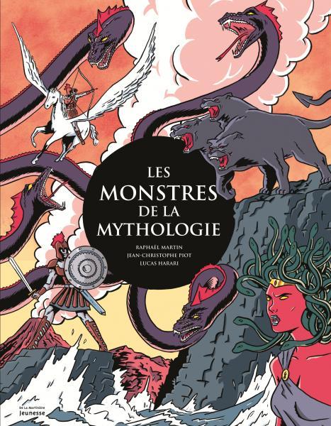 Couverture de l'ouvrage Les Monstres de la mythologie