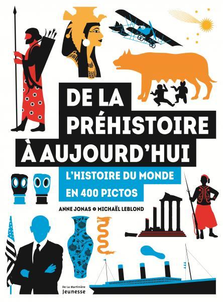 Couverture de l'ouvrage De la préhistoire à aujourd'hui