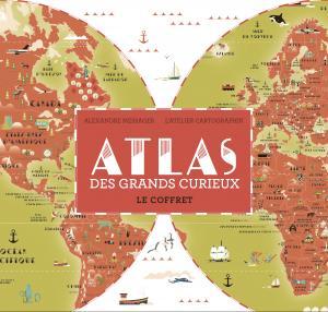 Couverture de l'ouvrage Atlas des grands curieux