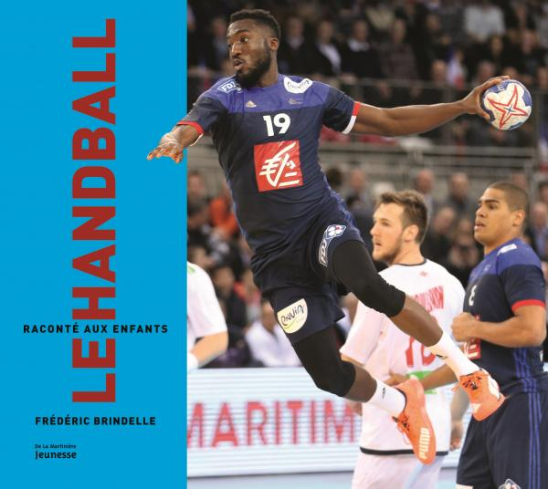 Couverture de l'ouvrage Le Handball raconté aux enfants