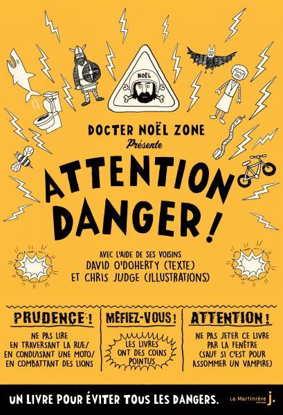 Couverture de l'ouvrage Attention danger