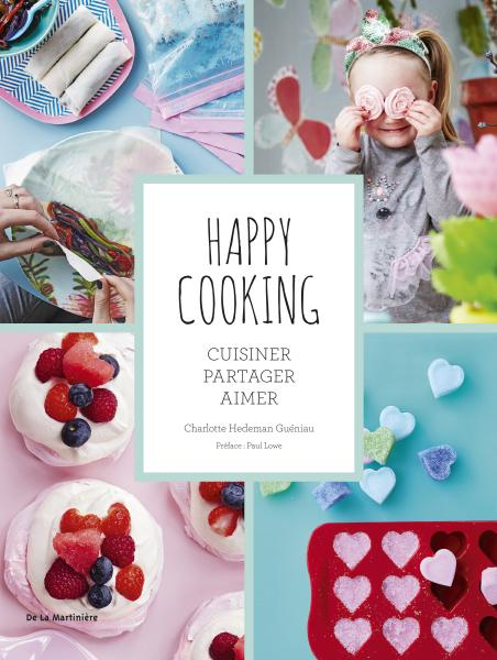 Couverture de l'ouvrage Happy cooking