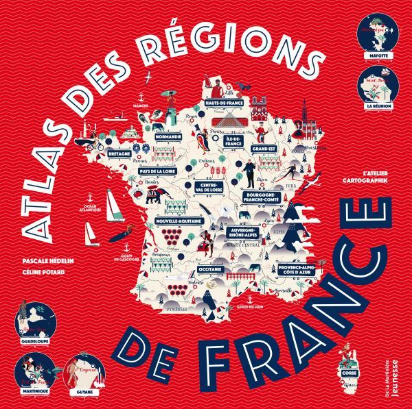 Couverture de l'ouvrage Atlas des régions de France
