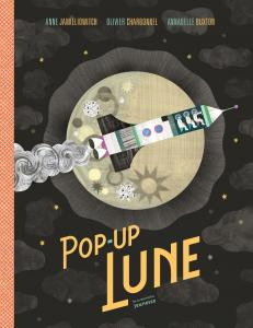 Couverture de l'ouvrage Pop-up Lune