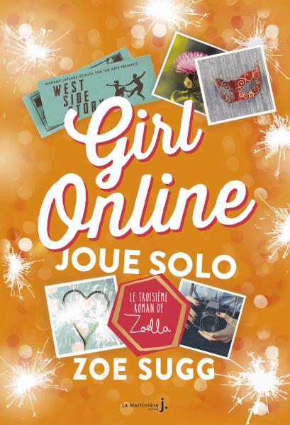 Couverture de l'ouvrage Girl Online Joue Solo