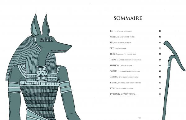 Exceptionnel Les Dieux de l'Egypte - Raphaël Martin | Editions de La Martinière  XY23