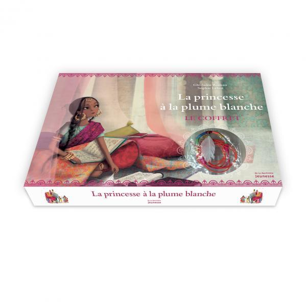 Couverture de l'ouvrage Les Bijoux de la princesse à la plume blanche