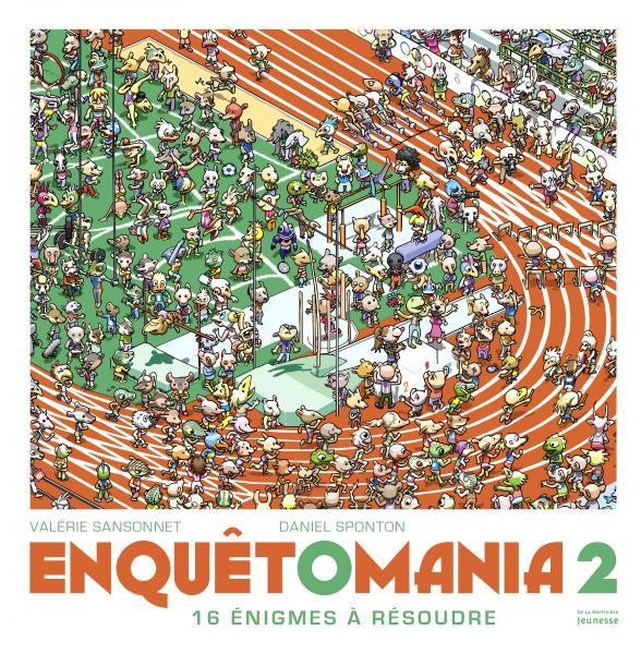 Couverture de l'ouvrage Enquêtomania 2