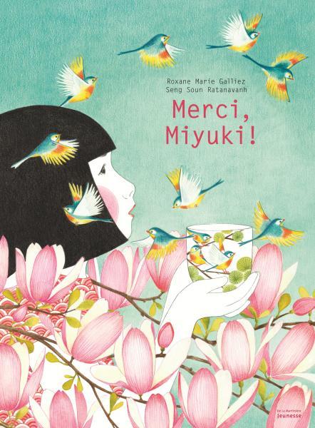 Couverture de l'ouvrage Merci, Miyuki !