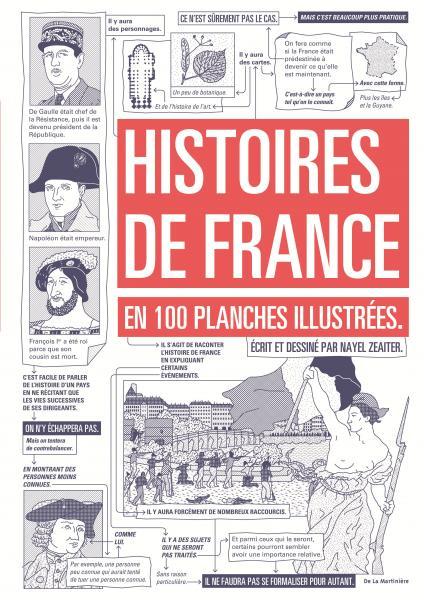 Couverture de l'ouvrage Histoires de France