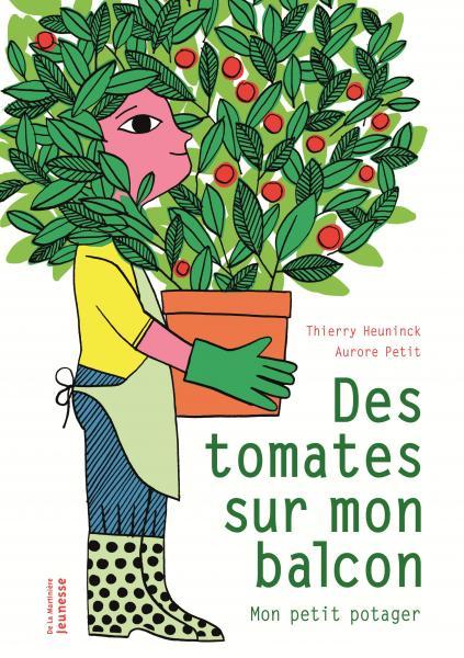 Couverture de l'ouvrage Des tomates sur mon balcon