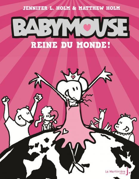 Couverture de l'ouvrage Babymouse, tome 1