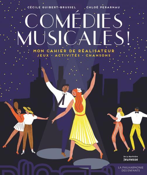 Couverture de l'ouvrage Comédies musicales