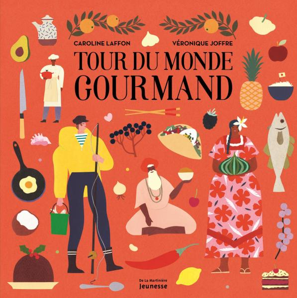 Couverture de l'ouvrage Tour du monde gourmand