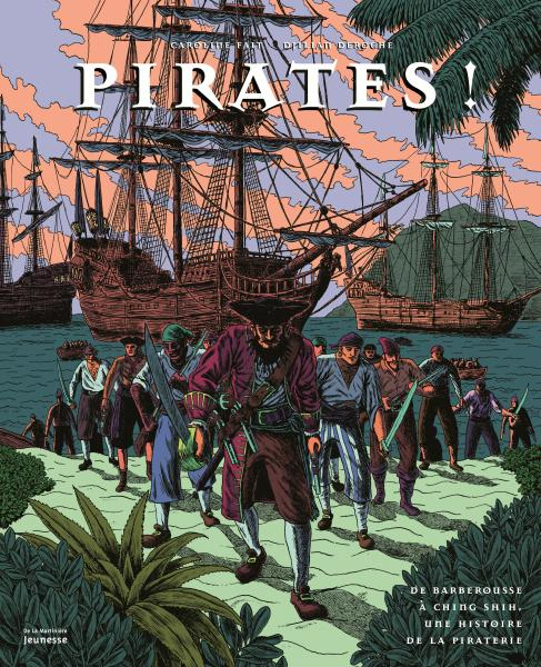 Couverture de l'ouvrage Pirates !