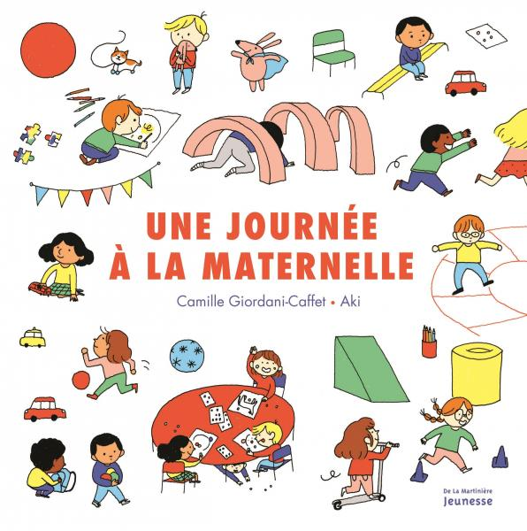 Couverture de l'ouvrage Une journée à la maternelle