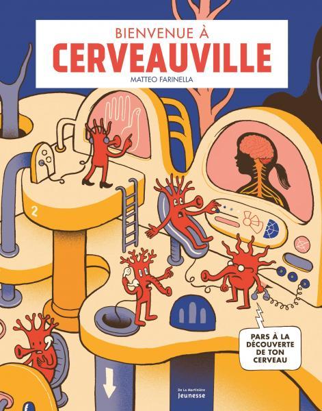 Couverture de l'ouvrage Bienvenue à Cerveauville