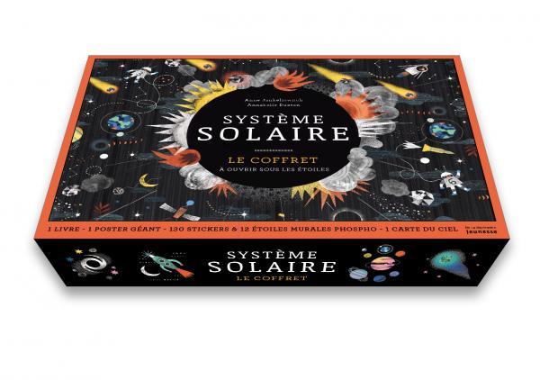 Couverture de l'ouvrage Système solaire, le coffret