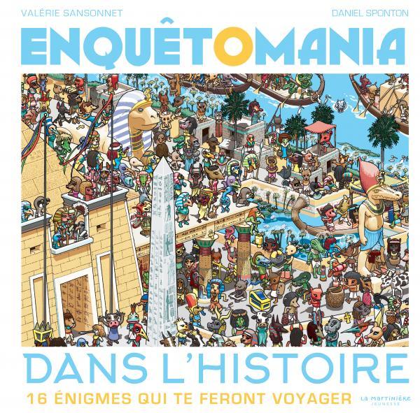 Couverture de l'ouvrage Enquêtomania dans l'histoire