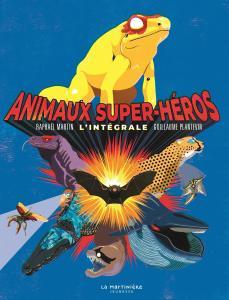 Couverture de l'ouvrage Animaux super-héros
