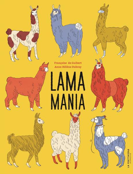 Couverture de l'ouvrage Lama mania