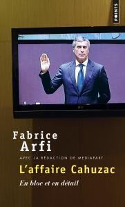 couverture L'Affaire Cahuzac