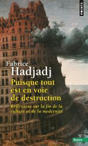 Couverture de l'ouvrage Puisque tout est en voie de destruction