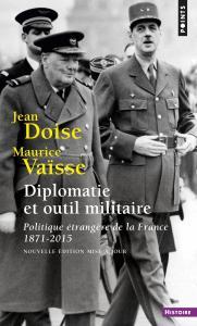 Couverture de l'ouvrage Diplomatie et outil militaire
