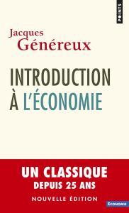 couverture Introduction à l'économie (nouvelle édit...