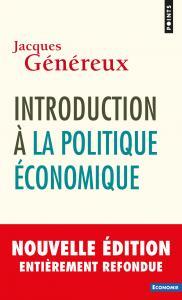 couverture Introduction à la politique économique