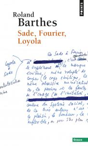 couverture Sade, Fourier, Loyola