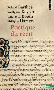 Couverture de l'ouvrage Poétique du récit