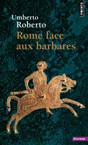 couverture Rome face aux barbares