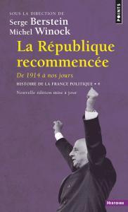 Couverture de l'ouvrage La République recommencée
