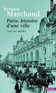 couverture Paris, histoire d'une ville
