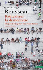 couverture Radicaliser la démocratie