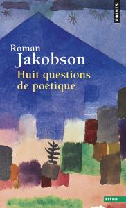 couverture Huit Questions de poétique