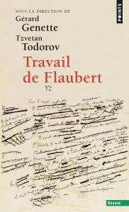 couverture Travail de Flaubert